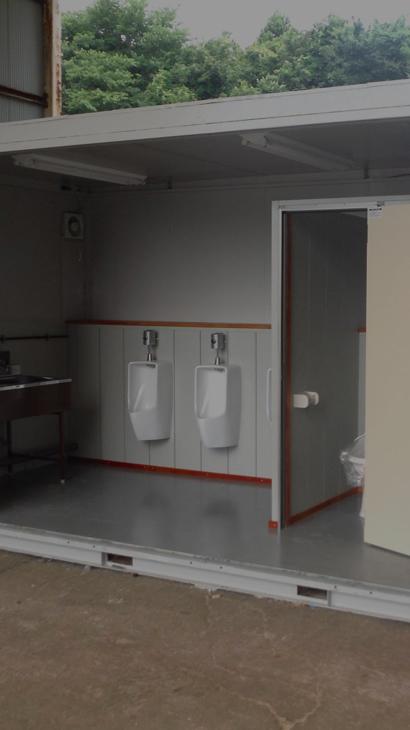 トイレ・シンク 簡易水洗式から本水洗式等多彩なバリエーション