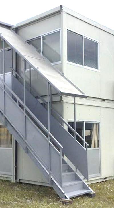 ユニットハウス 仮設事務所・休憩所ユニットハウスの組合せ自由です。