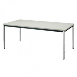 打合せ用角テーブル(白)